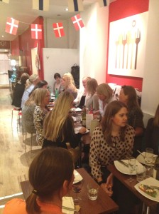God stemning på Scandinavian Kitchen